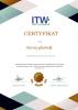 Zamawiam pamiątkowy, laminowany certyfikat dla placówki A4