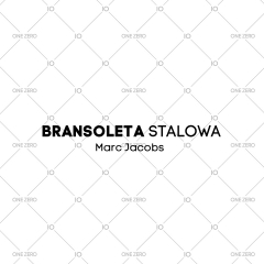 bransoleta stalowa Marc Jacobs
