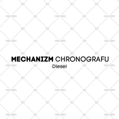 mechanizm chronografu Diesel