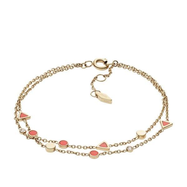 bransoletka Fossil JF02893710 • ONE ZERO • Modne zegarki i biżuteria • Autoryzowany sklep