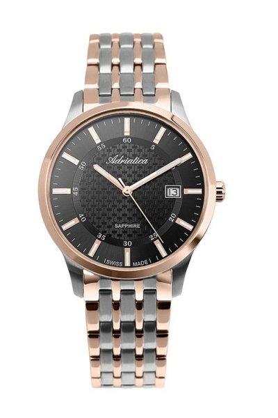 zegarek Adriatica A1256.R114Q • ONE ZERO • Modne zegarki i biżuteria • Autoryzowany sklep