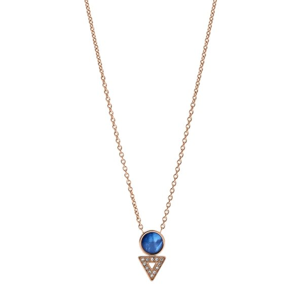 naszyjnik Fossil JF03013791 • ONE ZERO • Modne zegarki i biżuteria • Autoryzowany sklep