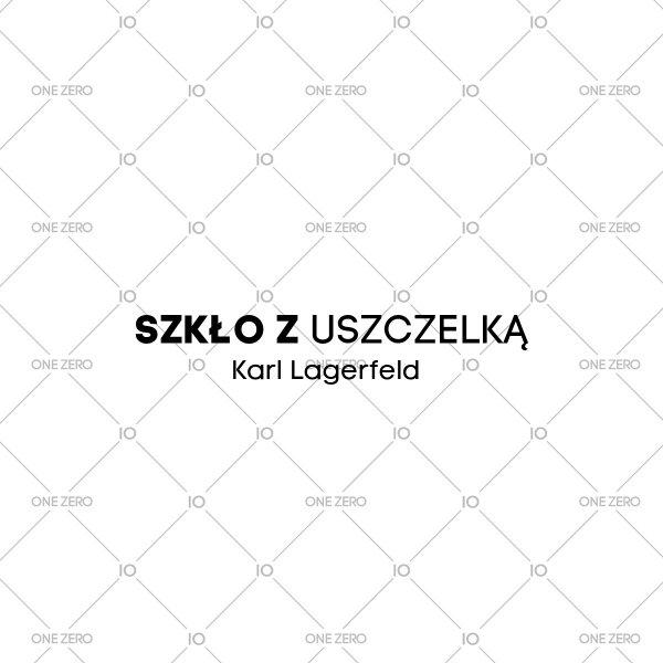 szkło z uszczelką Karl Lagerfeld • ONE ZERO • Modne zegarki i biżuteria • Autoryzowany sklep