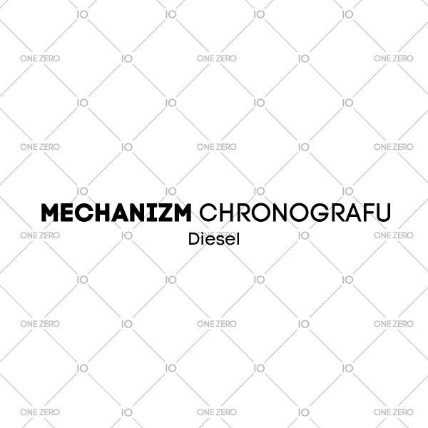 mechanizm chronografu Diesel • ONE ZERO • Modne zegarki i biżuteria • Autoryzowany sklep