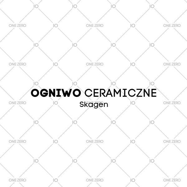 ogniwo ceramiczne Skagen • ONE ZERO • Modne zegarki i biżuteria • Autoryzowany sklep