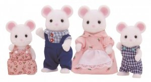 Sylvanian Families Rodzina białych myszek