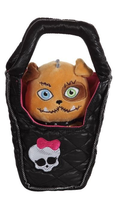 Monster High Plush dog in Purse