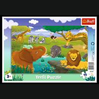 Puzzle Ramkowe Sawanna 15 el. Trefl 31357