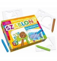 Zabawka Edukacyjna Szablony Zwierzęta Multigra 30124