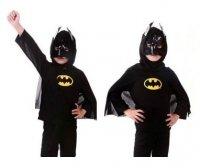 BRAK FOT Strój Karnawałowy Kostium Batman r. L