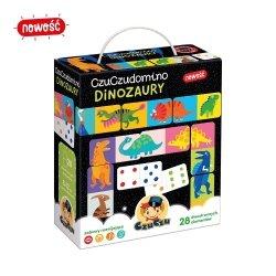 Gra Logiczna Domino Dinozaury CzuCzu 49162