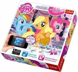 Puzzle 80 el. + aplikacja Przyjęcie My Little Pony Trefl 75100