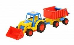 Traktor Ładowarka z Przyczepą Basics Wader 9623