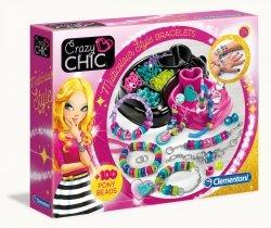 Kolorowe Bransoletki Crazy Chic Clementoni 78415