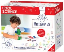 Mikroskop Cool Science Nauka i Zabawa TM Toys 4003