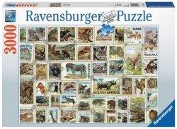 Puzzle Znaczki Pocztowe 3000 el. Ravensburger 170791