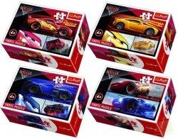 Puzzle Cars 3 54 el. Mini Trefl 54160