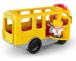 Autobus Małego Odkrywcy Little People Fisher Price FKX03