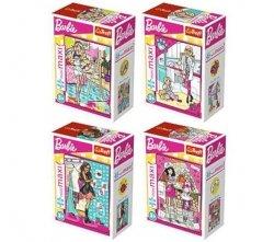 Puzzle Minimaxi Barbie Wymarzony Zawód 20 el. Trefl 56016