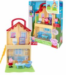 Świnka Peppa Domek Rozkładany + 2 Figurki TM Toys 00700