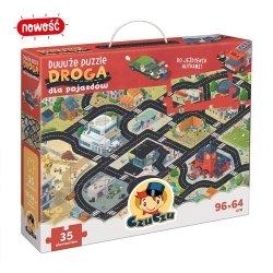 Duuuże Puzzle Droga dla Pojazdów 35 el. CzuCzu 49161