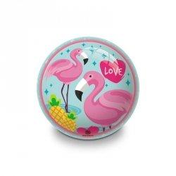 Piłka gumowa Flamingo 23 cm Flamingi Mondo 06747