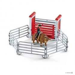 Kowboj ujeżdżający byka Figurka Schleich 41419