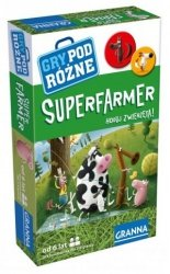 Gra podróżna SuperFarmer Granna 00240