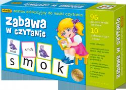 Zestaw edukacyjny Zabawa w czytanie Adamigo 00606