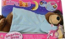 Chrapiący Niedźwiedź Misza 40 cm Masza i Niedźwiedź Simba 9301008