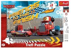Puzzle Cars ramkowe 15 el. Trefl 31110