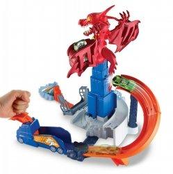 Smocze Wyzwanie Tor Hot Wheels Mattel DWL04