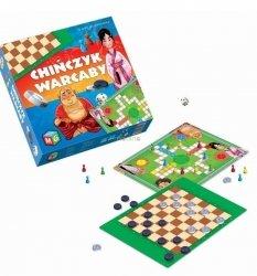 Gra Planszowa 2w1 Chińczyk Warcaby Multigra 30040