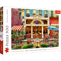 Puzzle Kawiarenka 500 el. Trefl 37406