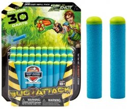 Zestaw 30 strzałek Zuru X-Shot Bug Attack Formatex 4805