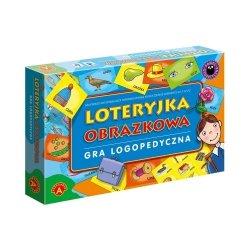 Gra logopedyczna Loteryjka obrazkowa Alexander 0329