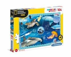 Puzzle Odkrywca Oceanu 104 el. Clementoni 27141