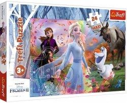 Puzzle Maxi W Poszukiwaniu Przygód Frozen 2 Kraina Lodu 2 24 el. Trefl 14322