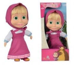Masza lalka szmaciana 23 cm z włosami do czesania zabawka z bajki Masza i Niedźwiedź Simba 9306372