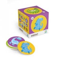 Gra Pamięciowa Memo Mini Dinozaury 24 el. Dodo 300142