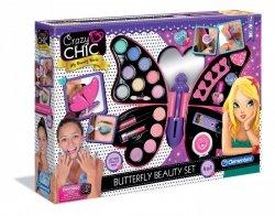 Crazy Chic Zestaw Motyl do makijażu Clementoni 78236