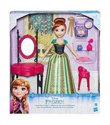Lalka Anna Frozen z Lustrem z Bajki Kraina Lodu Hasbro C0454
