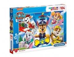 Puzzle Paw Patrol Psi Patrol 104 el. Clementoni 27262