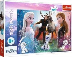 Puzzle Magiczny Czas 300 el. Frozen Kraina Lodu Trefl 23006
