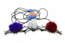 Skaczący pająk z pompką zabawka AM Zabawki 109A