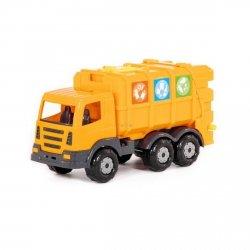 Prestiż śmieciarka z kontenerem Polesie 71743