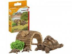 Dom dla Żółwi + Figurki Schleich 42506