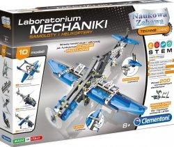 Zestaw naukowy Laboratorium Mechaniki Samoloty i Helikoptery Clementoni 60950