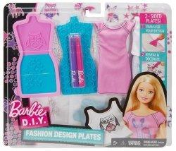 Barbie Zrób to sama: Stylowe szablony Mattel DYV66