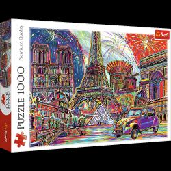 Puzzle Kolory Paryża 1000 el. Trefl 10524